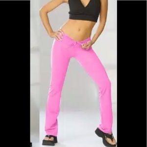 Otomix Pink Tie Waist Nylon Lycra Medium Pant NWT